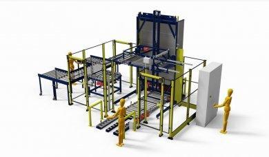maszyna do paletyzacji rur - 1